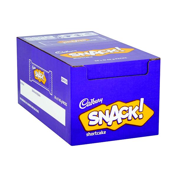 Cadbury Snack Shortcake 40g (36 Pack)