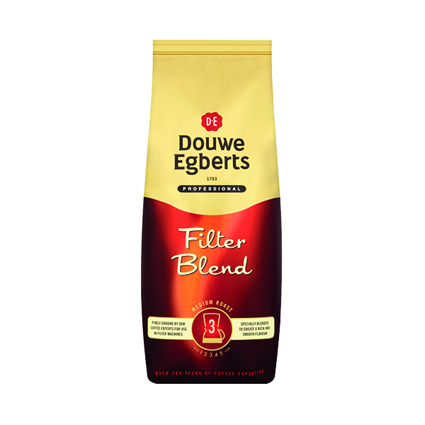 Douwe Egberts Filter Blend Roast and Ground Coffee 1kg 536600