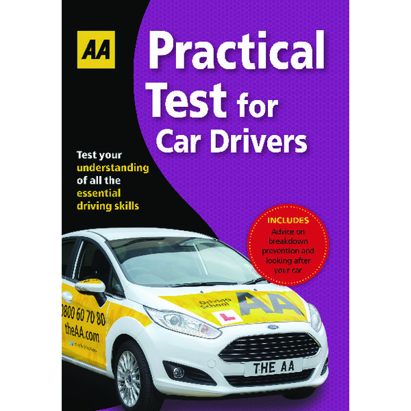AA Driving Test Practical Book 9780749567217
