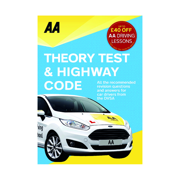 AA Driving Test Theory and Highway Code Book 9780749578077