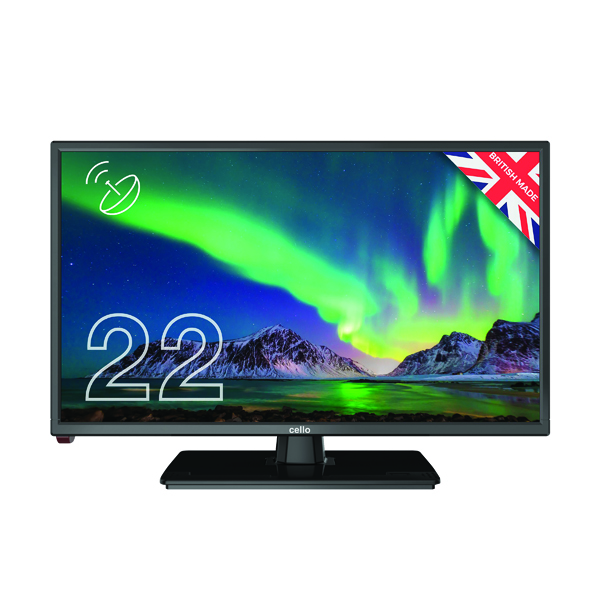 Cello 22 Inch Freeview HD LED TV 1080p C2220S