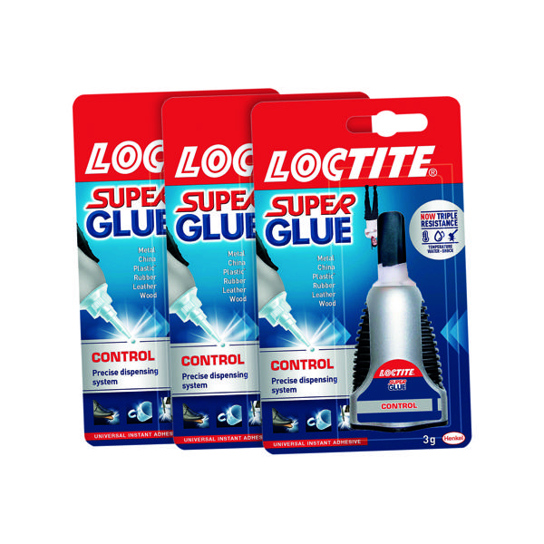 Loctite Super Glue Control 3g 3 For The Price of 2