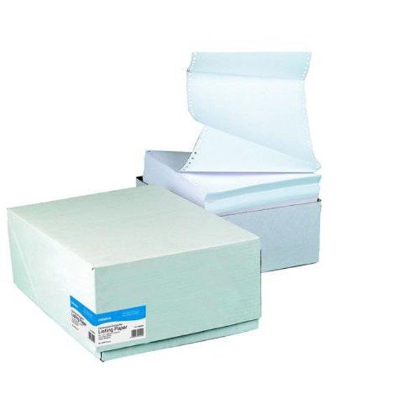 Initiative Listing Paper 11x241mm (279x241) Plain Micro Perferations 70gsm (2000 Pack)