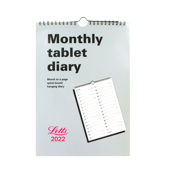 Letts Monthly Tablet Diary 2022 22-TMT