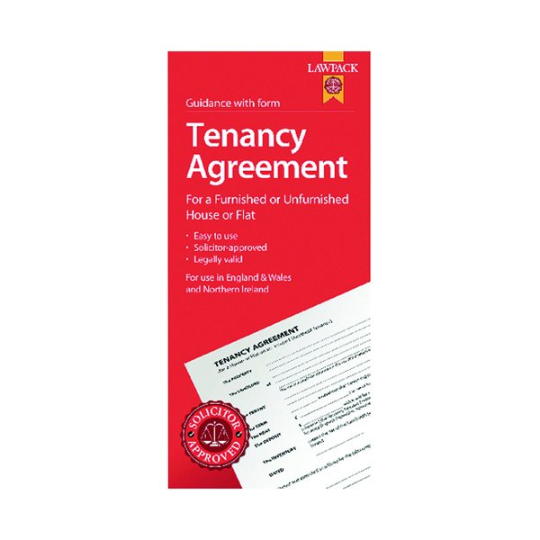 LawPack Tenancy Agreement (5 Pack) TM8813