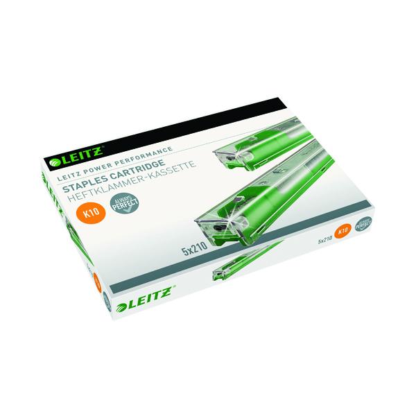 Leitz Green Heavy Duty Staple Cartridge (5 Pack) 55930000