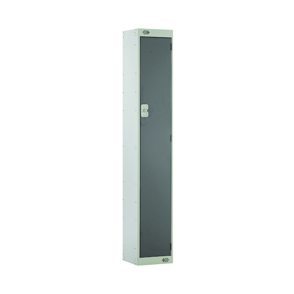 Single Compartment Locker D300mm Dark Grey Door MC00003