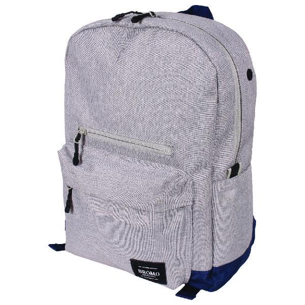 Bromo Toronto Backpack Blue and Grey BRO001-06