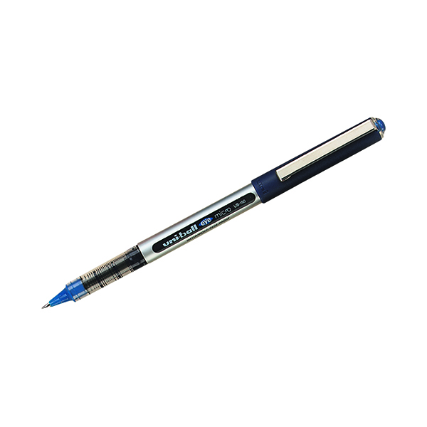 Uni-Ball Eye Micro UB-150 0.2mm Line Blue Rollerball Pen (12 Pack) 9000501