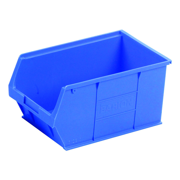 Barton Blue Small Parts Container 12.8 Litre (10 Pack) 10051