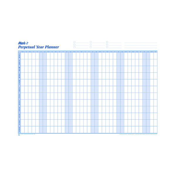 Mark-it Perpetual Year Planner PYP