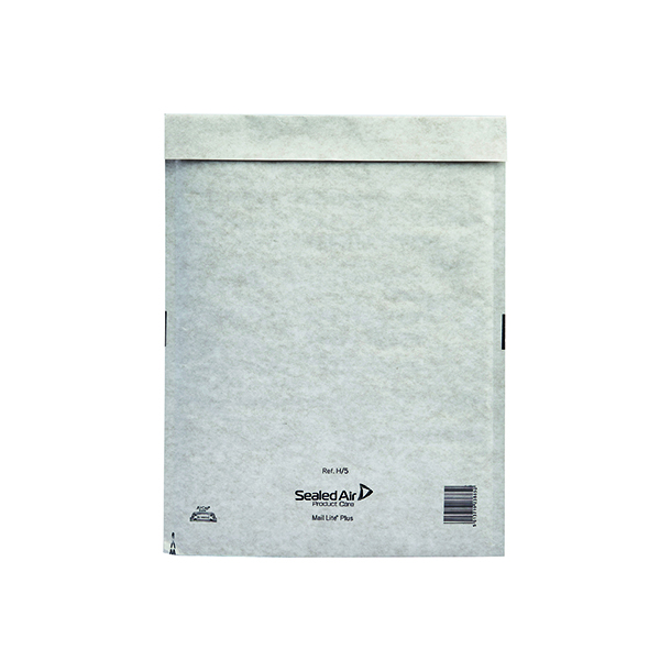 Mail Lite Plus Bubble Lined Postal Bag (Size H/5 270x360mm Oyster White (50 Pack) 103025660
