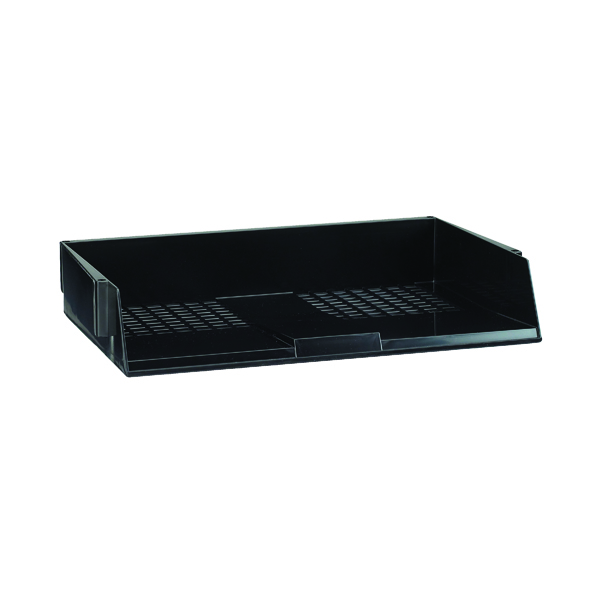 Avery Wide Entry Black Letter Tray W44BLK