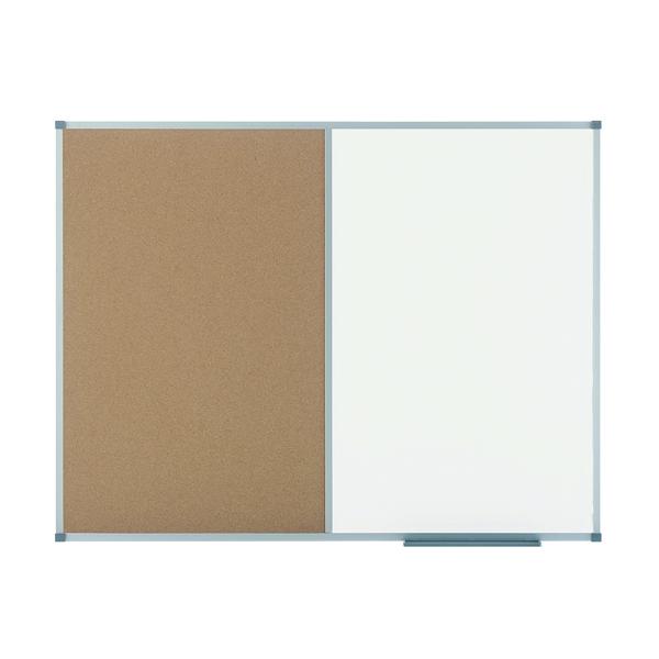 Nobo Classic Combination Cork Drywipe Board 1200x900mm 1901588