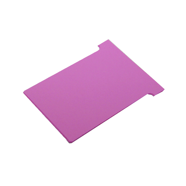 Nobo T-Card Size 2 48 x 85mm Pink (100 Pack) 32938905