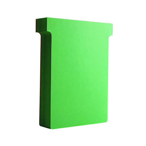 Nobo T-Card Size 3 80 x 120mm Light Green (100 Pack) 32938913