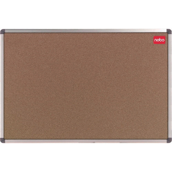 Nobo Cork Classic Notice Board With Wall Fixing Kit 1800 x 1200mm 36739002