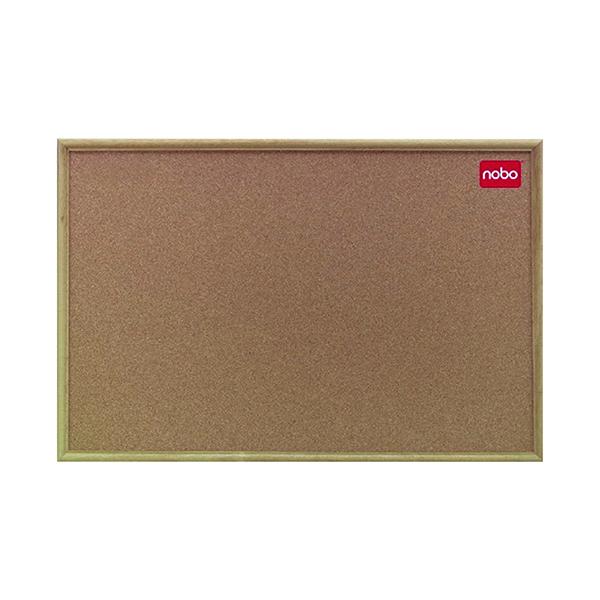 Nobo Classic Cork noticeboard, 900 x 600mm