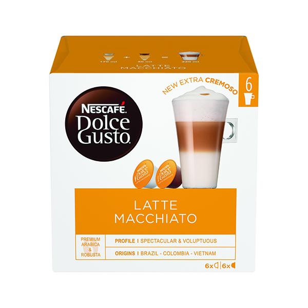 Nescafe Dolce Gusto Latte Macchiato Capsules (48 Pack) 12416323