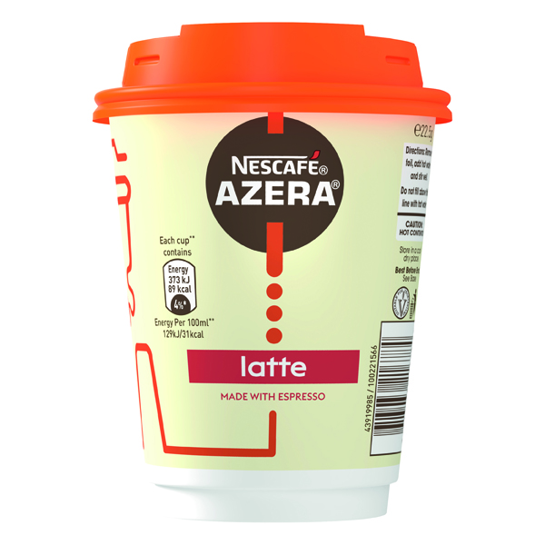 Nescafe & Go Azera Latte Cups (6 Pack) 12367627