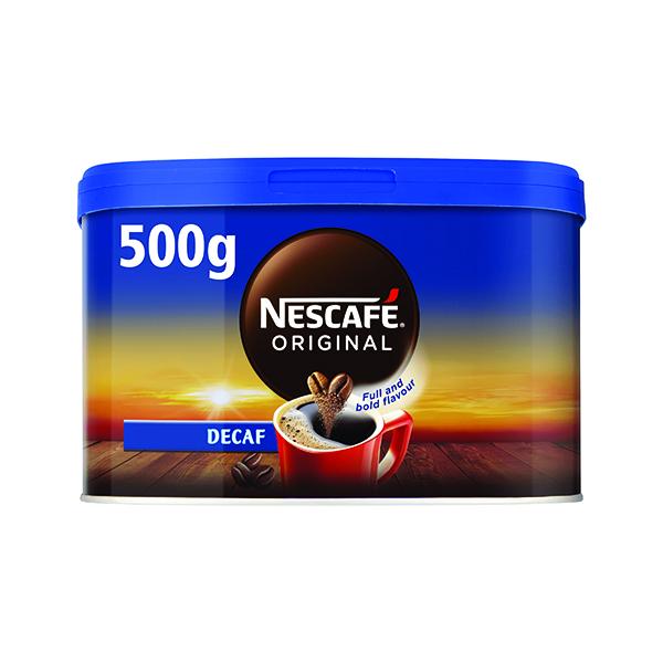 Nescafe Original Decaffeinated Instant Coffee 500g 12315569