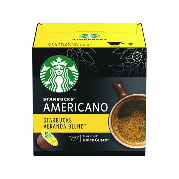 Nescafe Dolce Gusto Starbucks Americano Veranda Blend Capsules (36 Pack) 12397698