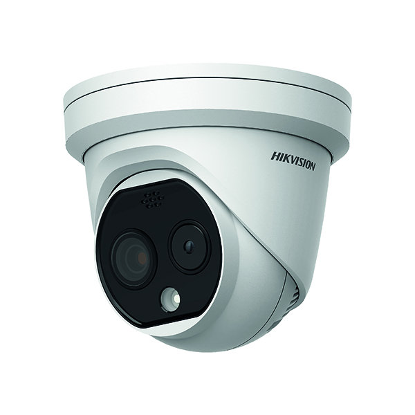 Hikvision 3.1mm Thermal/Optical Dual Spectrum Turret DS-2TD1217B-3/PA