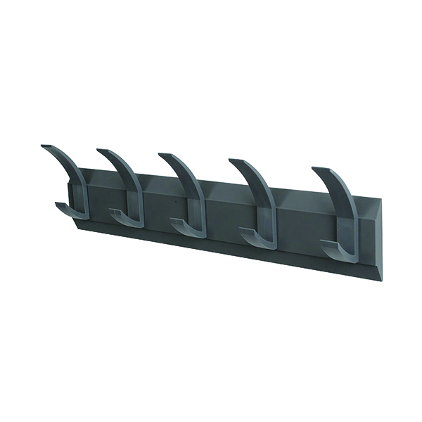 Acorn Wall Mounted Coat Rack With 5 Hooks 319875