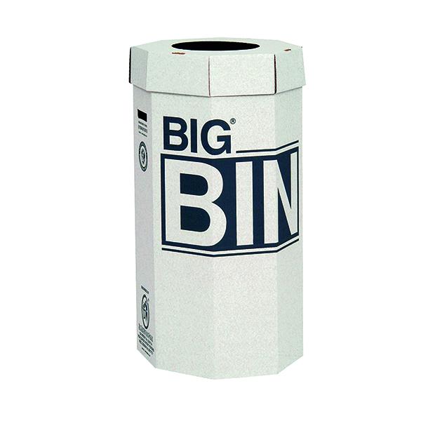Acorn Big Bin Cardboard Recycling Bin 160 Litre (5 Pack) 142958