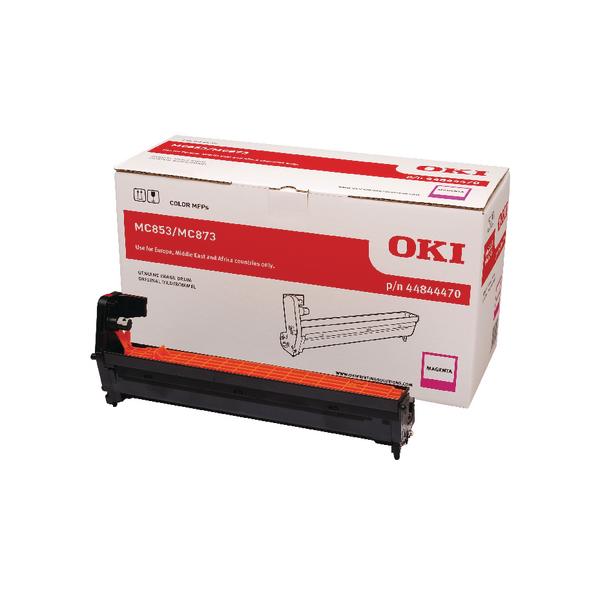 Oki MC853 MC873 Magenta Drum 30000 Page 44844470