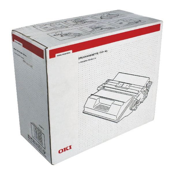 Oki B6100N Single Toner/Drum Unit Black 09004058
