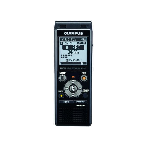 Olympus WS-853 Digital Voice Recorder Black V415131BE000
