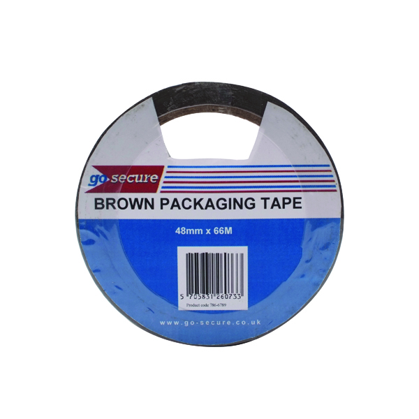 Go Secure Packaging Tape 50mmx66m (6 Pack) PB02296