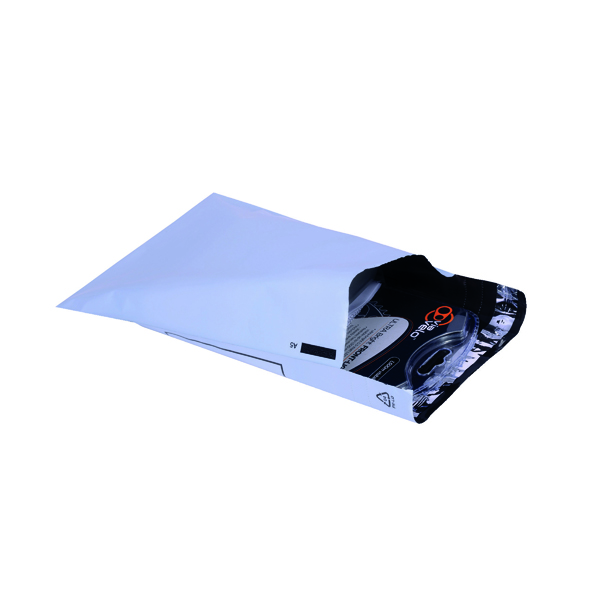 Go Secure 230 x 162mm Opaque Lightweight Polythene Envelope (100 Pack) PB11122