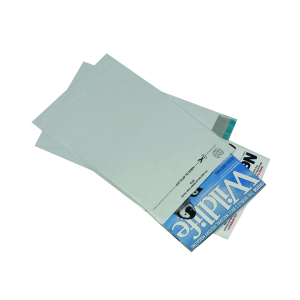 Go Secure 595 x 430mm Opaque Lightweight Polythene Envelope (100 Pack) PB11129