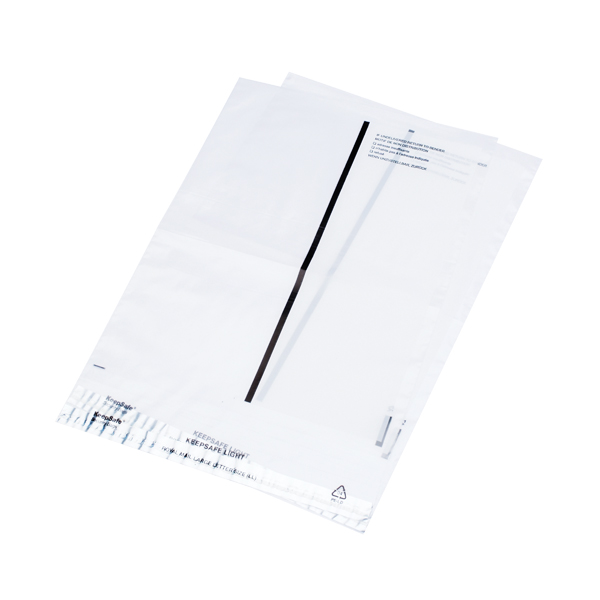 Ampac Lightweight Polythene Envelope 235 x 310mm Clear With Panel (100 Pack) KSV-LCP2