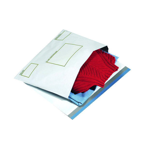 Ampac Extra Strong 400 x 430mm Opaque Poly Envelope (100 Pack) KSV-BIO5