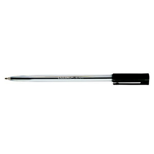 Initiative Ballpoint Pen Medium Black With Stainless Steel Ball