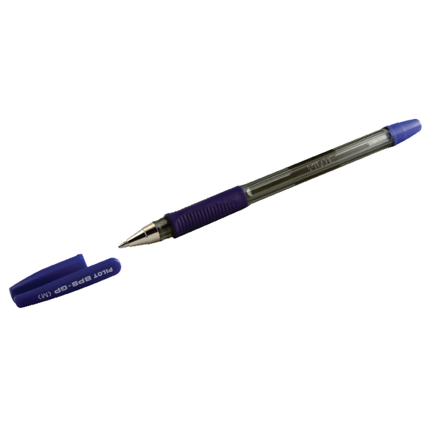 Pilot Blue Medium Ball Pens (12 Pack) BPS-GPM03