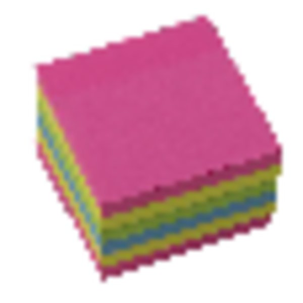 Initiative Extra Sticky Notes Assorted Neon Colours 76x76mm 90 Sheets Per Pad