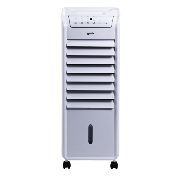 Igenix 6 Litre Evaporative Air Cooler White IG9703