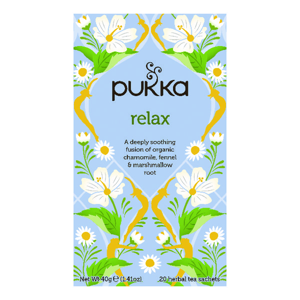 Pukka Relax Tea (20 Pack) P5003