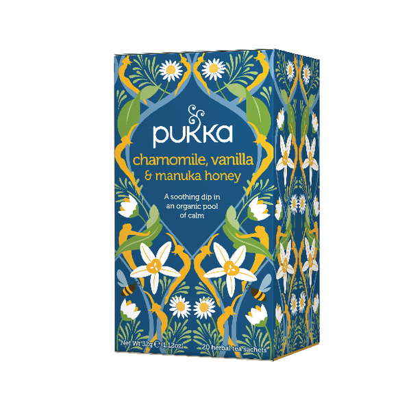 Pukka Chamomile, Vanilla and Manuka Tea (20 Pack) P5032