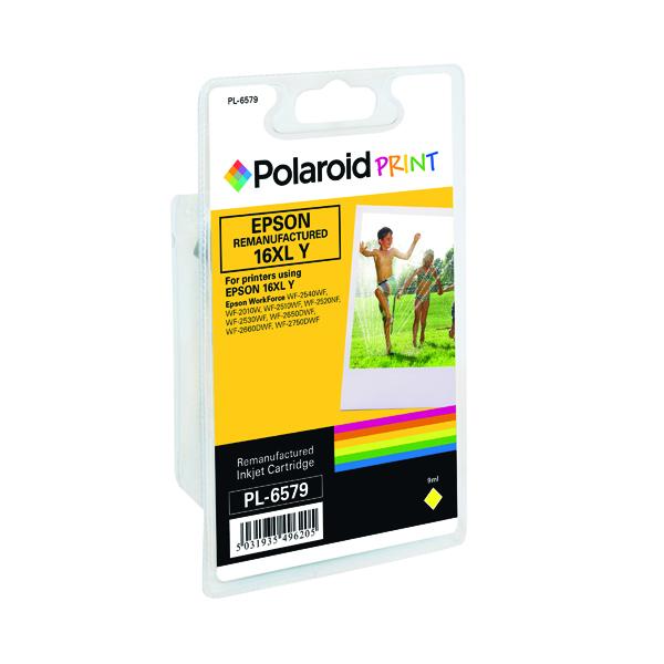 Polaroid Epson 16XL Remanufactured Inkjet Cartridge Yellow T163440-COMP PL