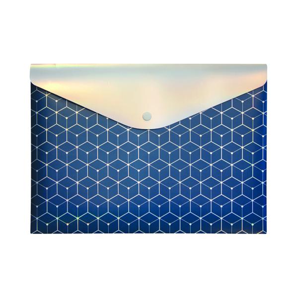 Pukka Glee Stud Wallet Dark Blue (12 Pack) 8703(DE)-GLE