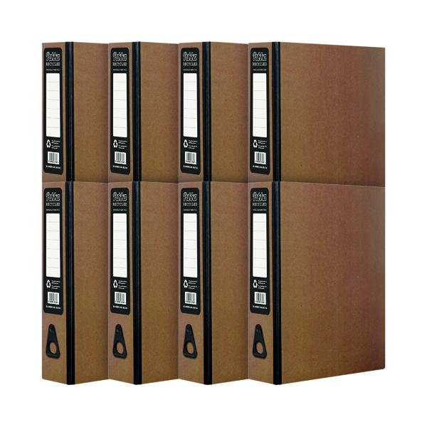 Pukka Recycled Box File Kraft (10 Pack) RF-9487