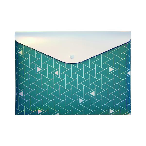Pukka Glee Stud Wallet Green (12 Pack) 8703(GN)-GLE