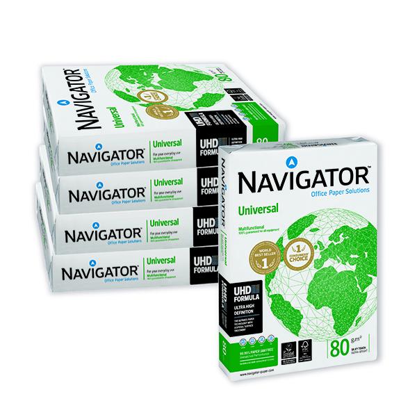 Navigator Universal A4 Paper 80gsm White (2500 Pack) NAVA480
