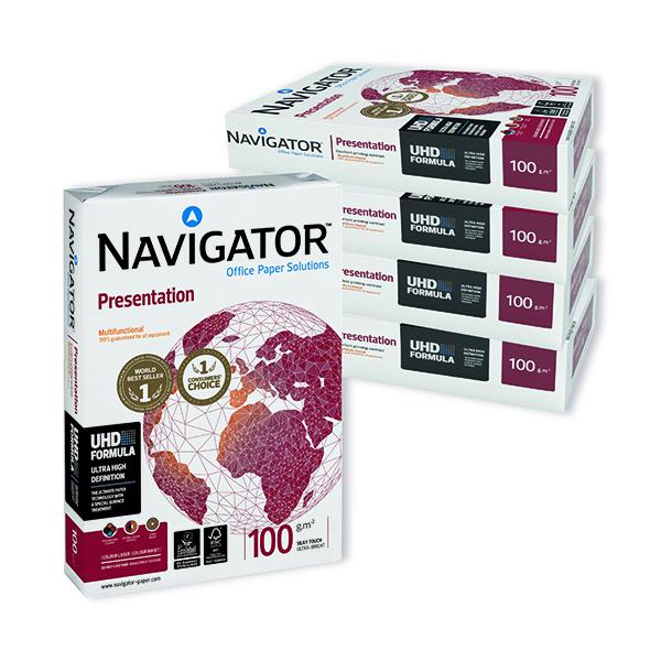 Navigator A4 Presentation Paper 100gsm White (2500 Pack) NAVA4100