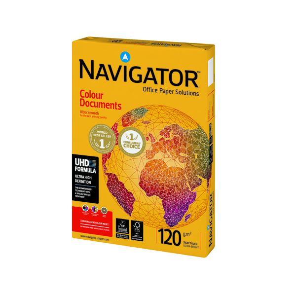 Navigator Colour Documents A4 Paper 120gsm (250 Pack) NAVA4120